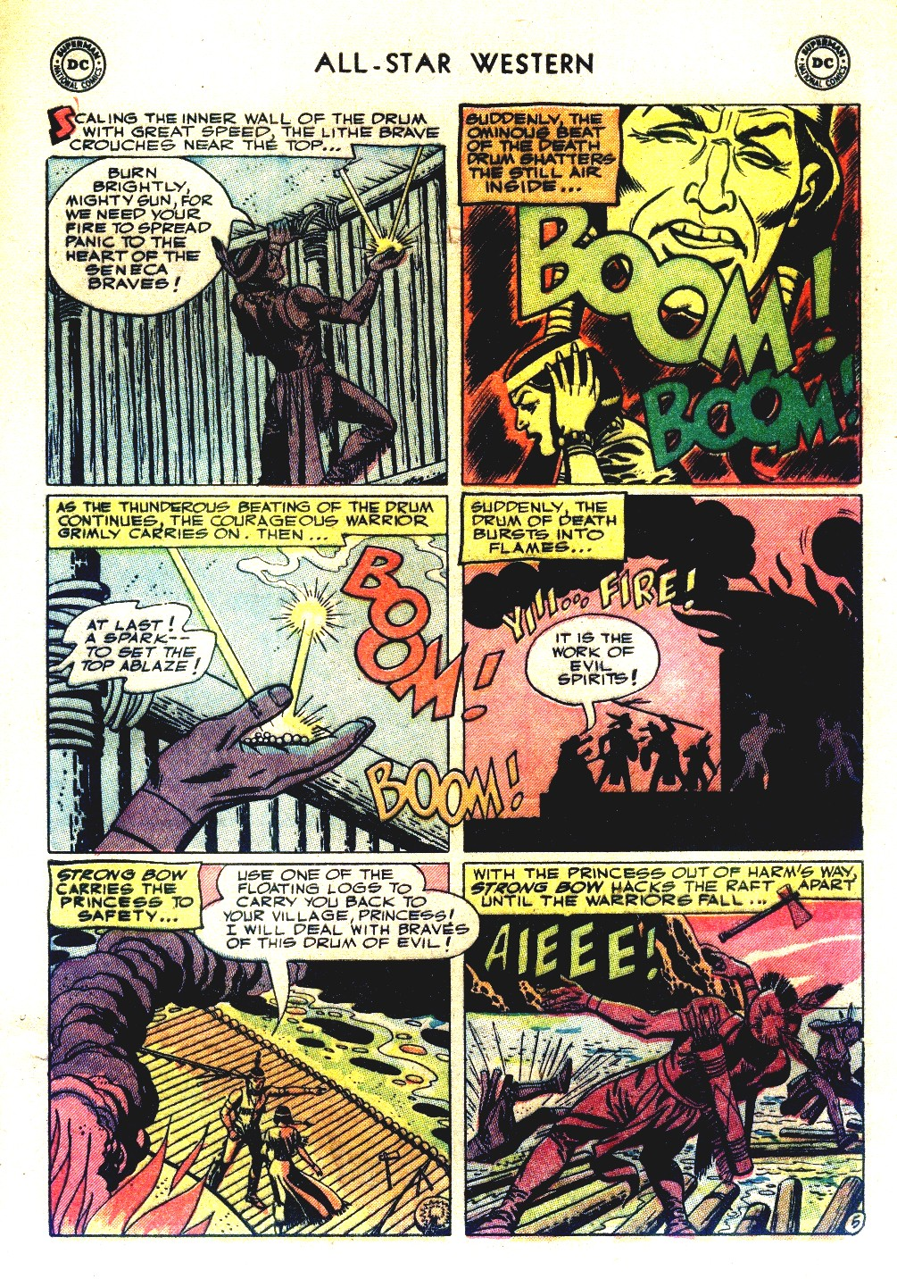 Read online All-Star Western (1951) comic -  Issue #66 - 33