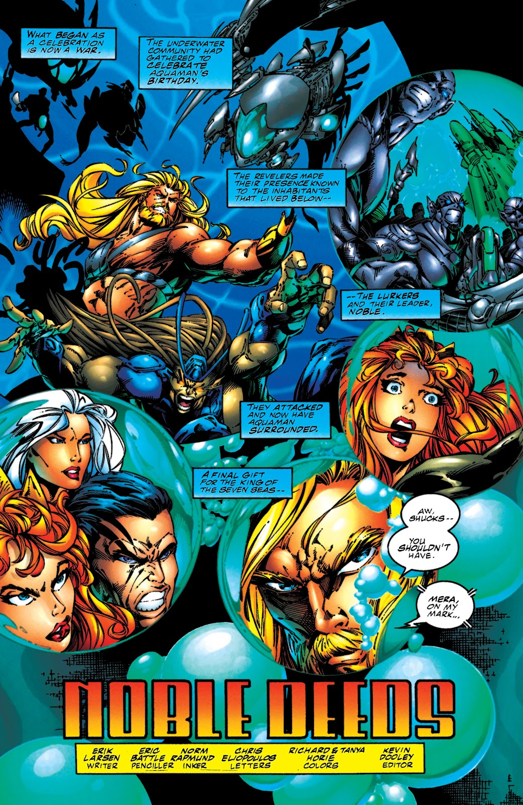 Aquaman (1994) Issue #51 #57 - English 2