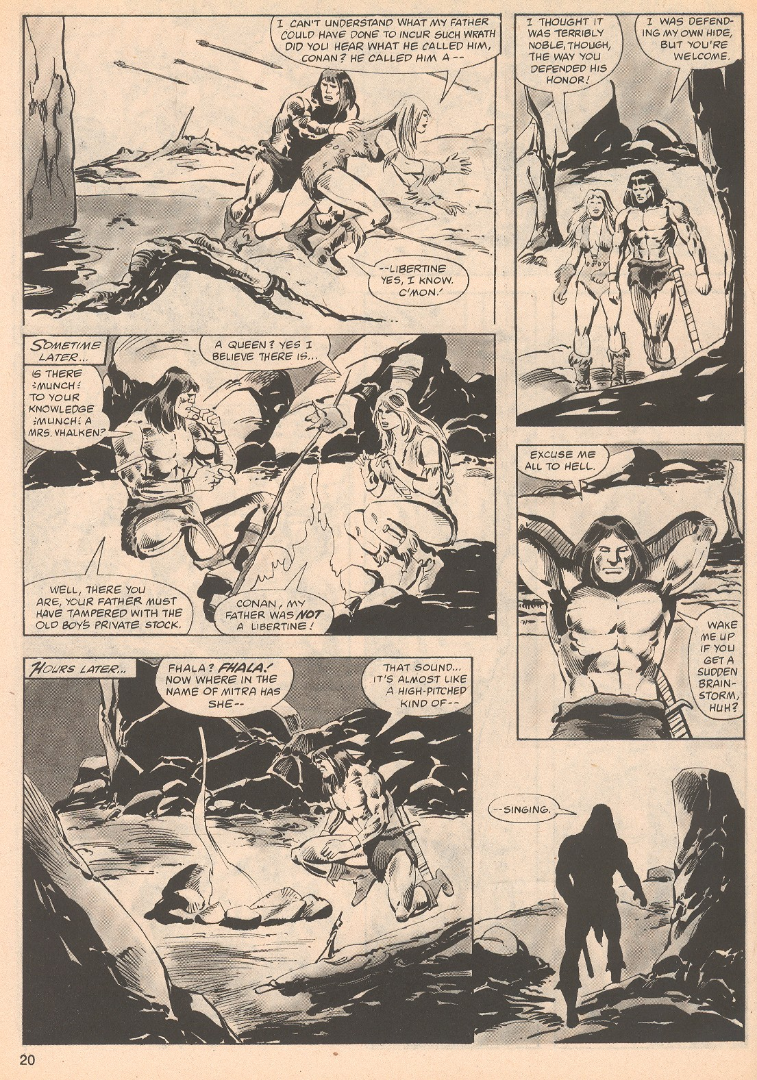 The Savage Sword Of Conan Issue #70 #71 - English 20