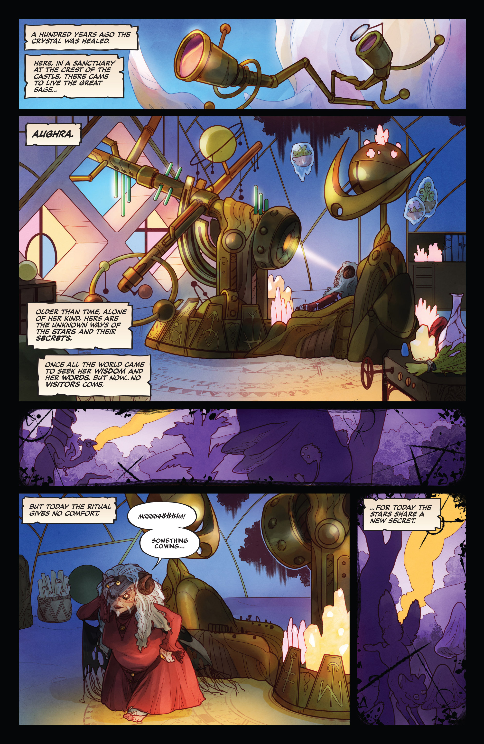 The Power of the Dark Crystal 1 Page 6