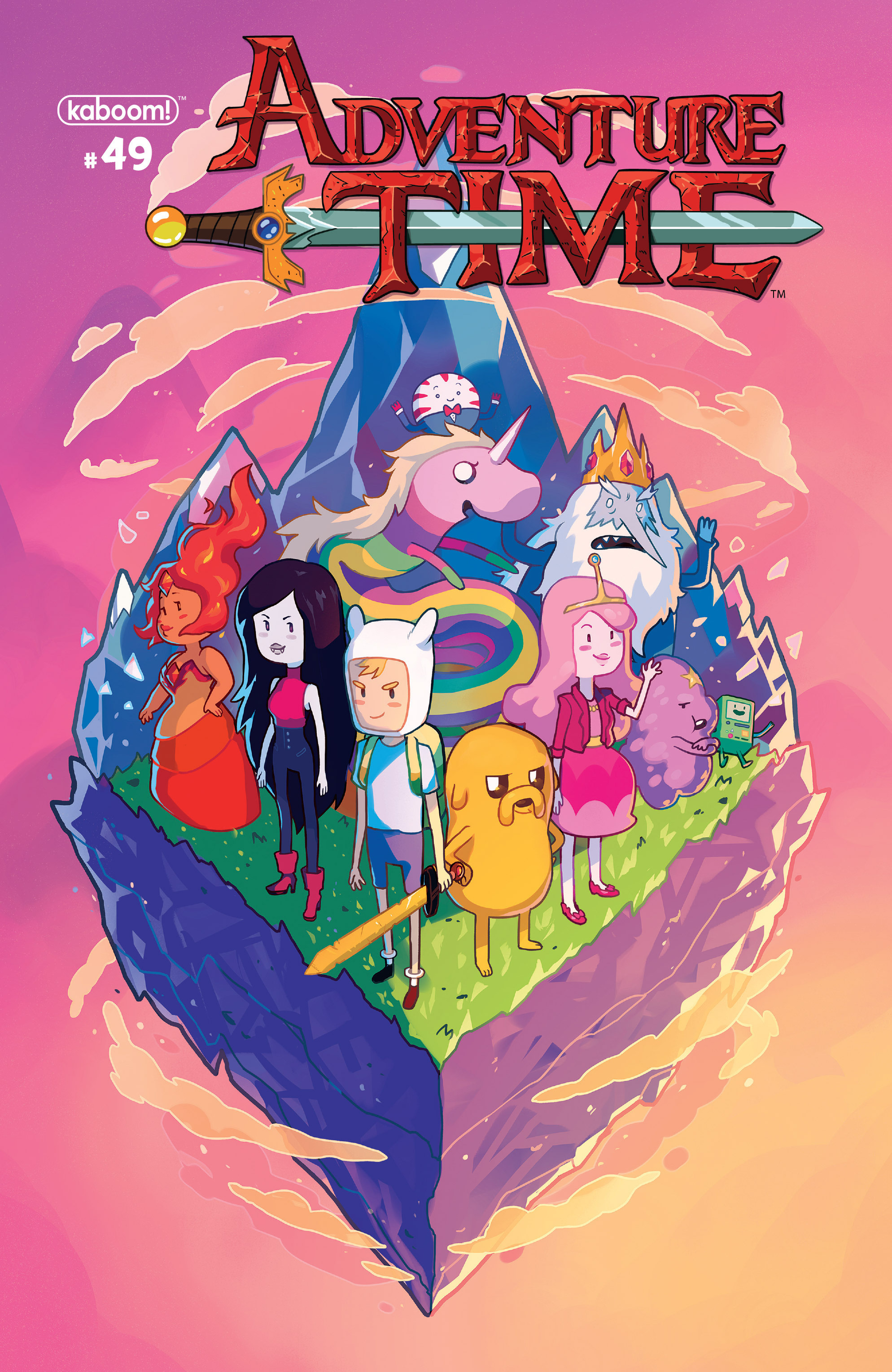 Adventure Time 49 Page 1