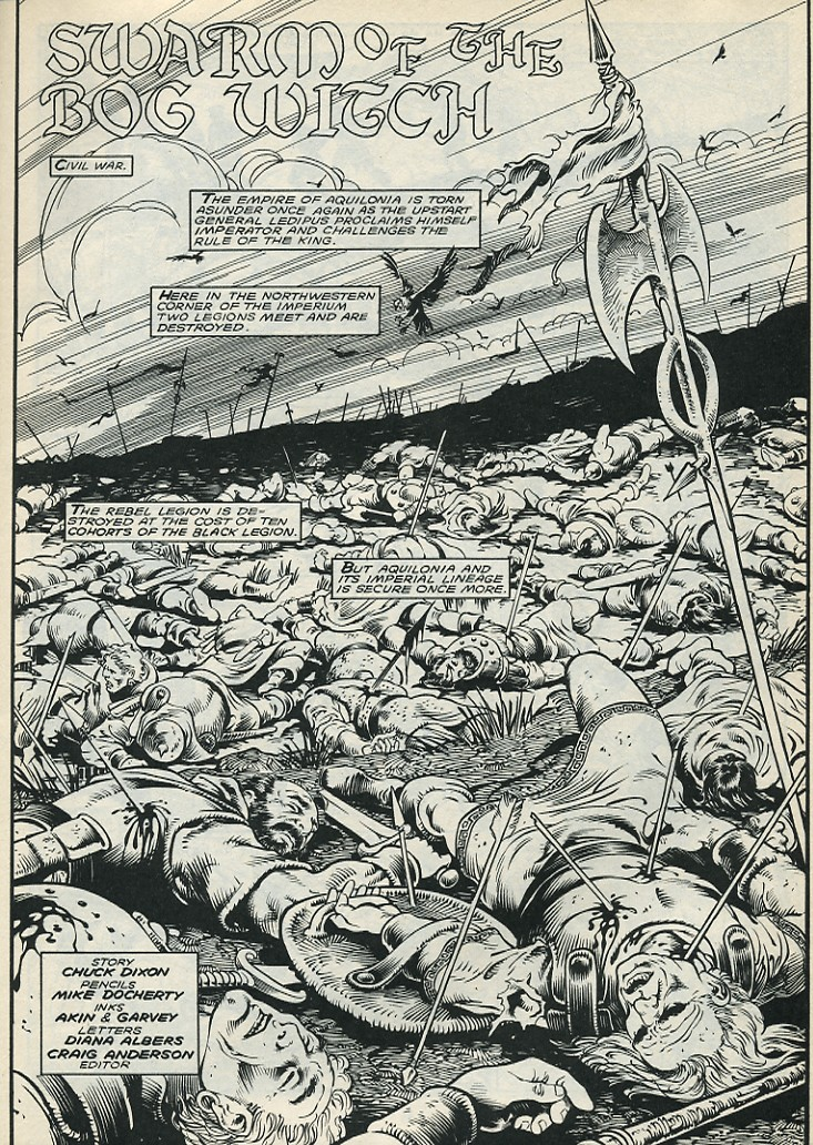 The Savage Sword Of Conan Issue #172 #173 - English 3