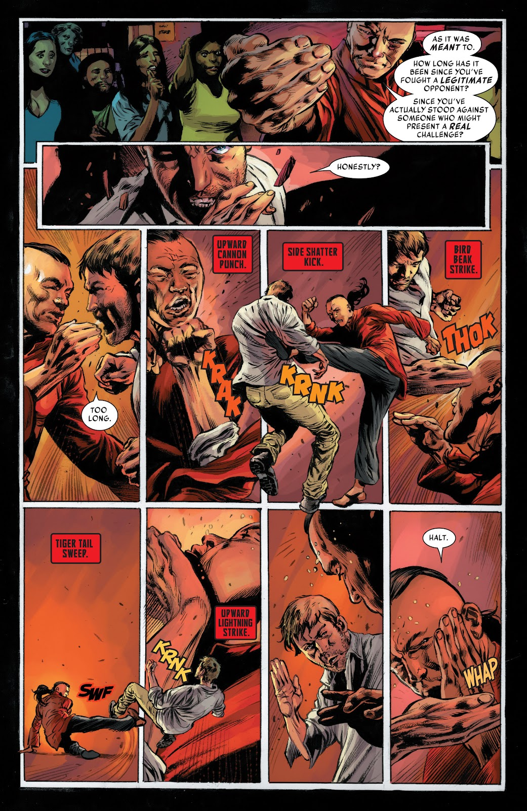 Iron Fist (2017) Issue #1 #1 - English 19