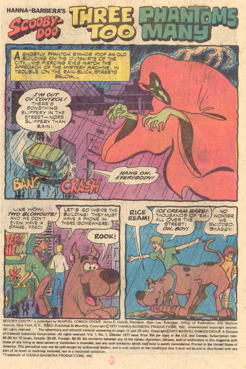 Read online Scooby-Doo (1977) comic -  Issue #1 - 2