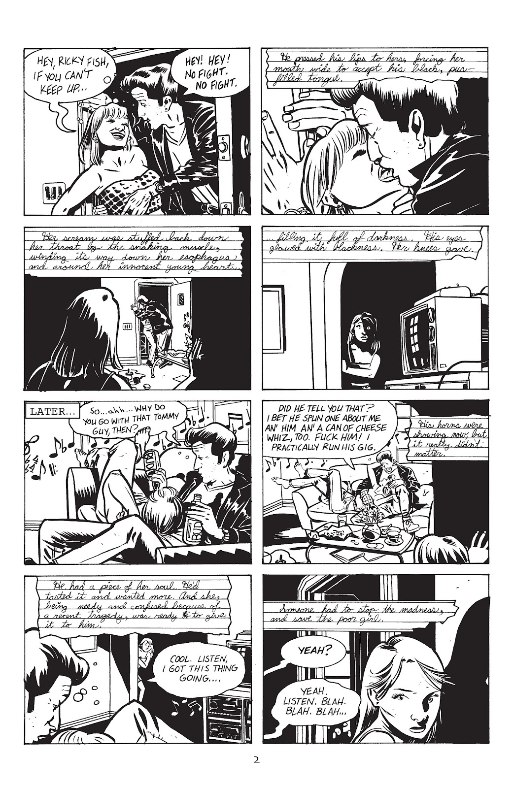 Stray Bullets Issue #15 #15 - English 4
