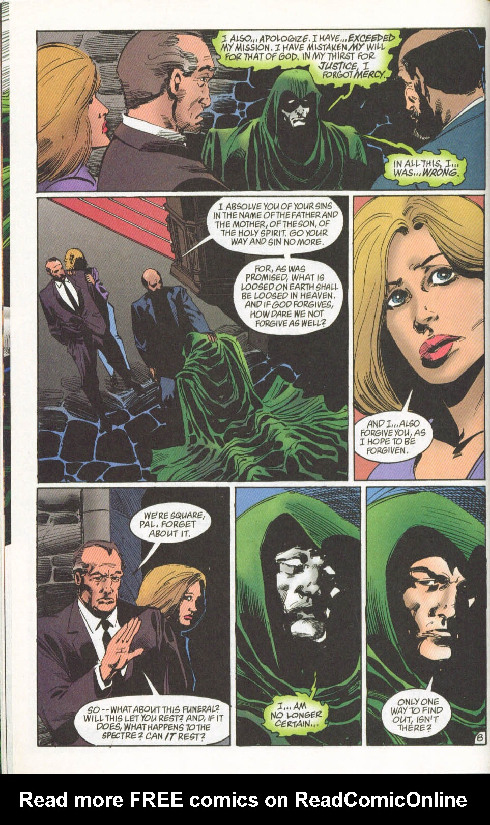 The Spectre (1992) #62 #64 - English 9