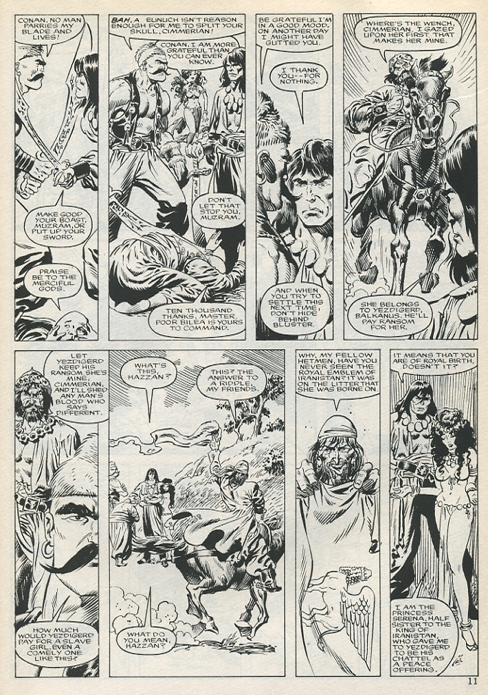 The Savage Sword Of Conan Issue #131 #132 - English 11