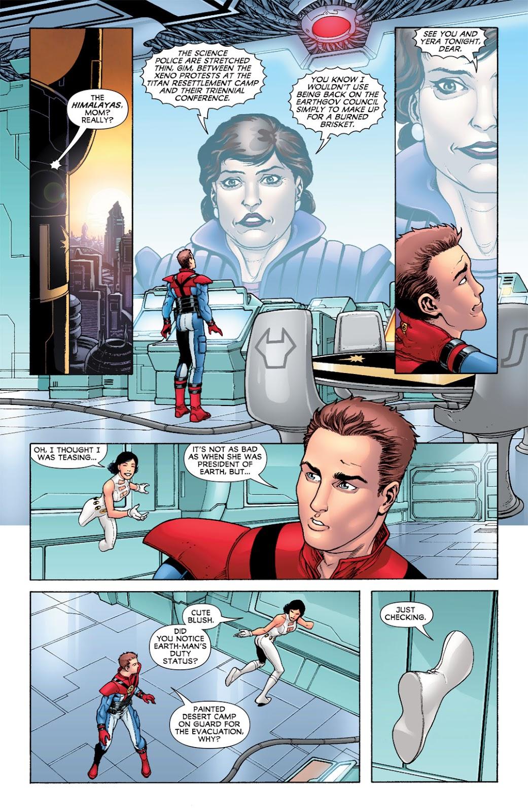 Legion of Super-Heroes (2010) Issue #6 #7 - English 6