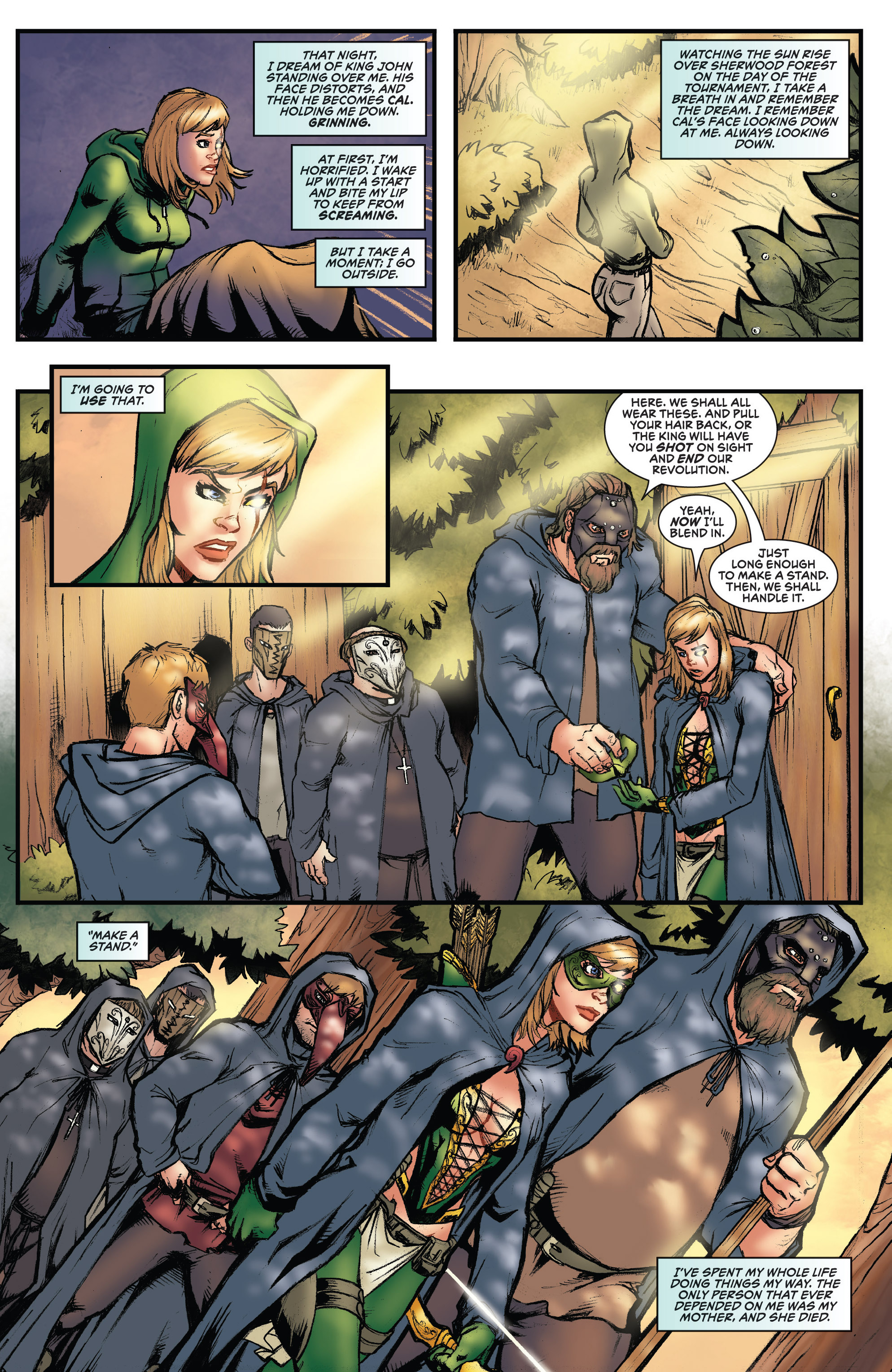 Read online Grimm Fairy Tales presents Robyn Hood (2012) comic -  Issue #3 - 23