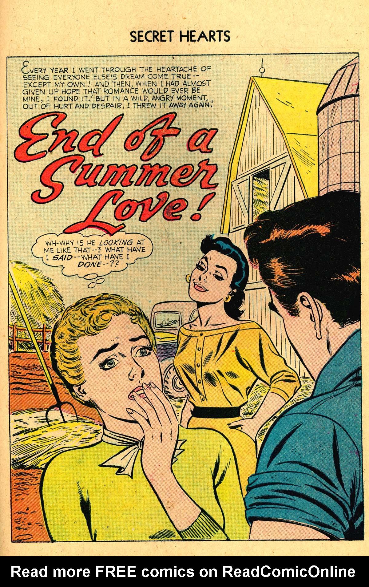 Read online Secret Hearts comic -  Issue #36 - 27