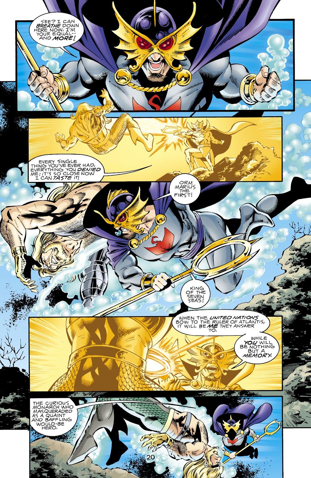 Aquaman (1994) Issue #67 #73 - English 20