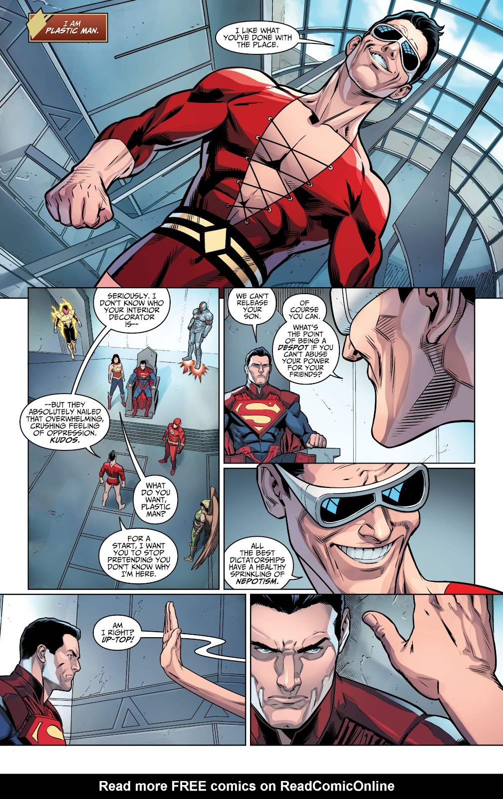 Injustice: Gods Among Us Year Four _Annual 1 #1 - English 11