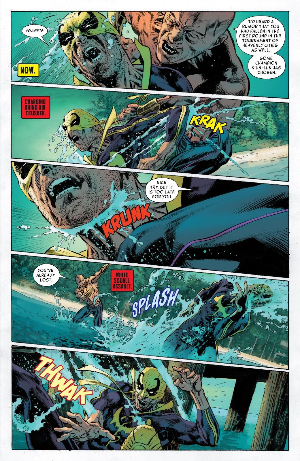Iron Fist (2017) Issue #2 #2 - English 9