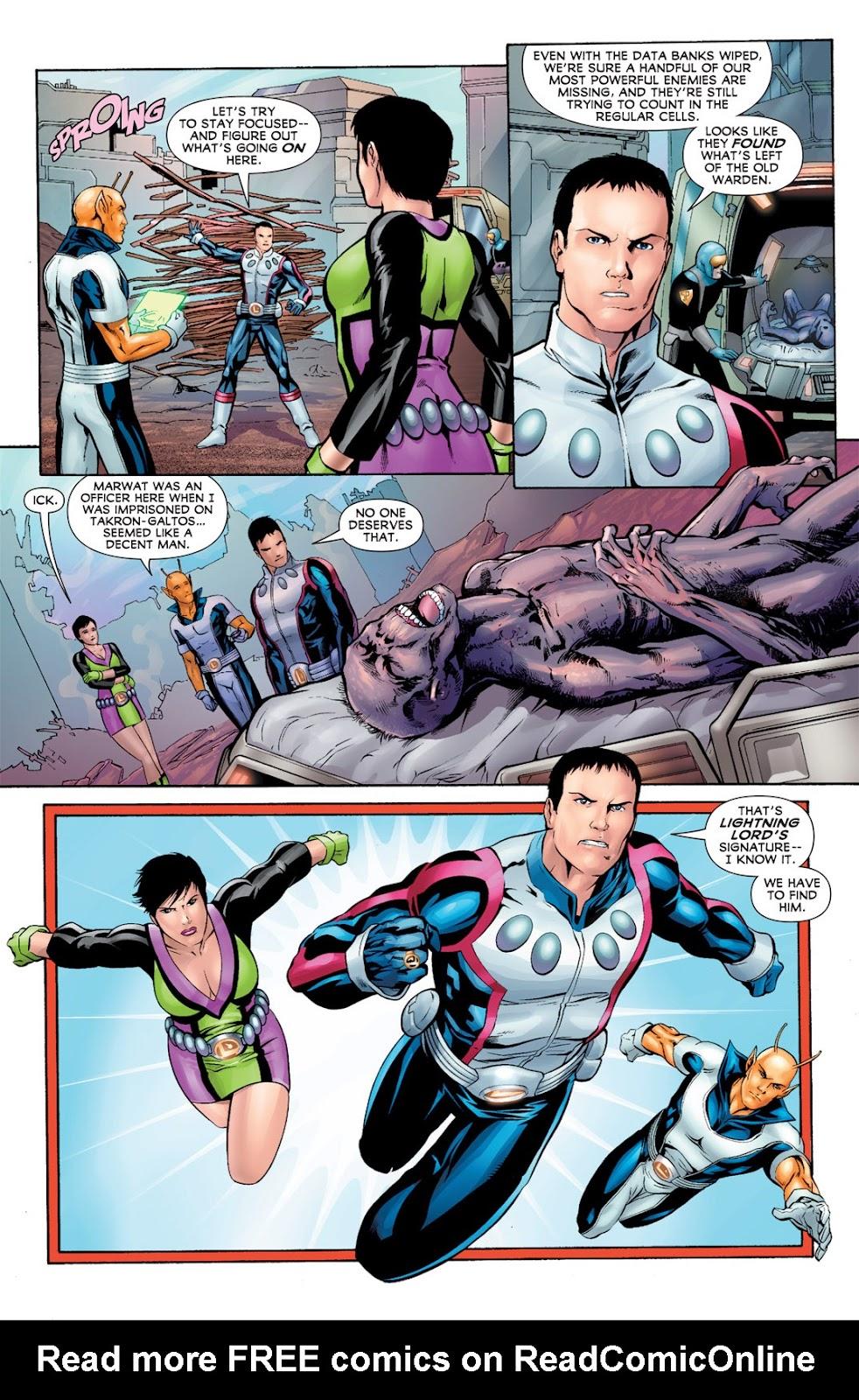 Legion of Super-Heroes (2010) Issue #11 #12 - English 9