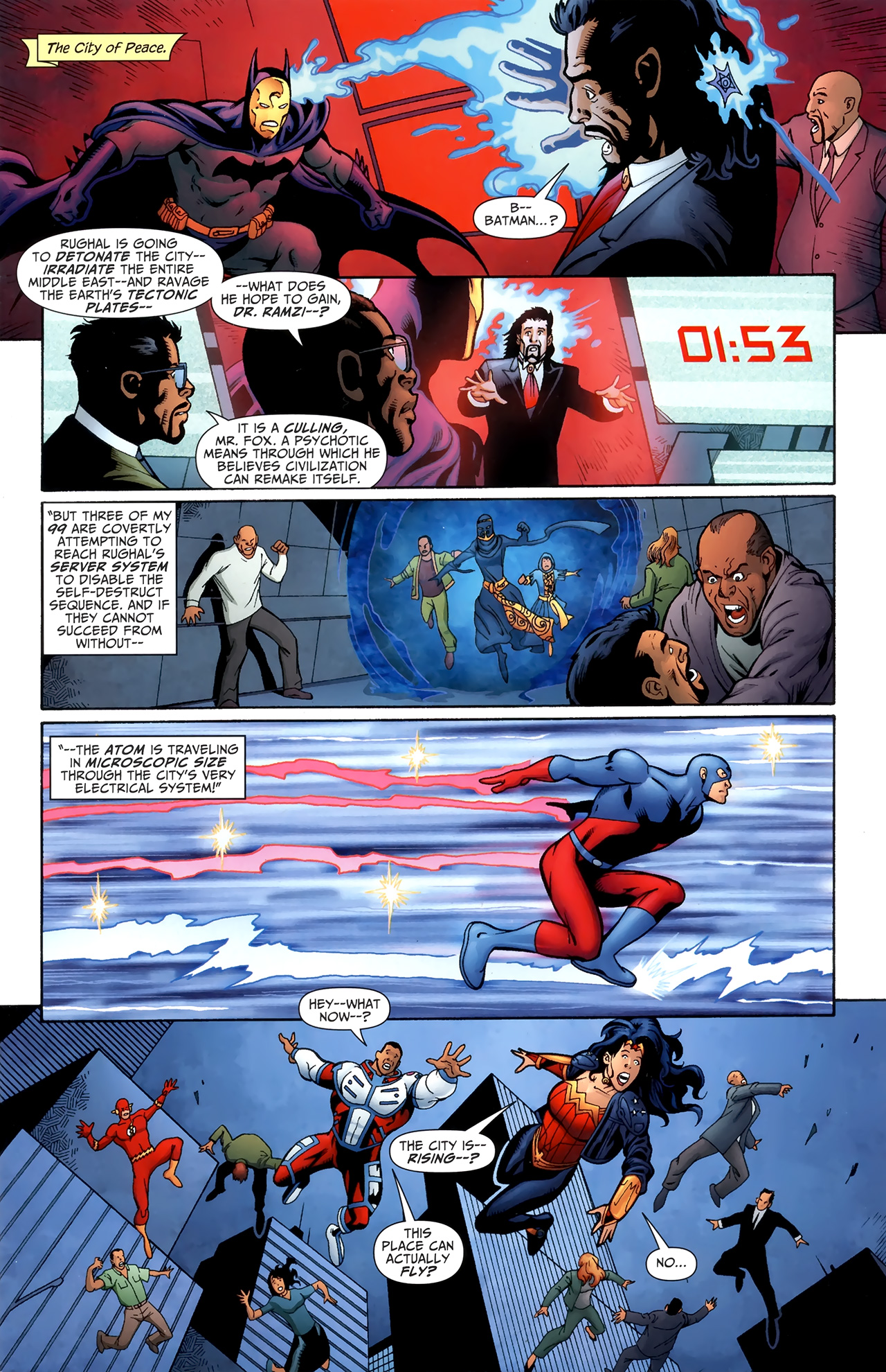 Read online Justice League of America/The 99 comic -  Issue #6 - 2