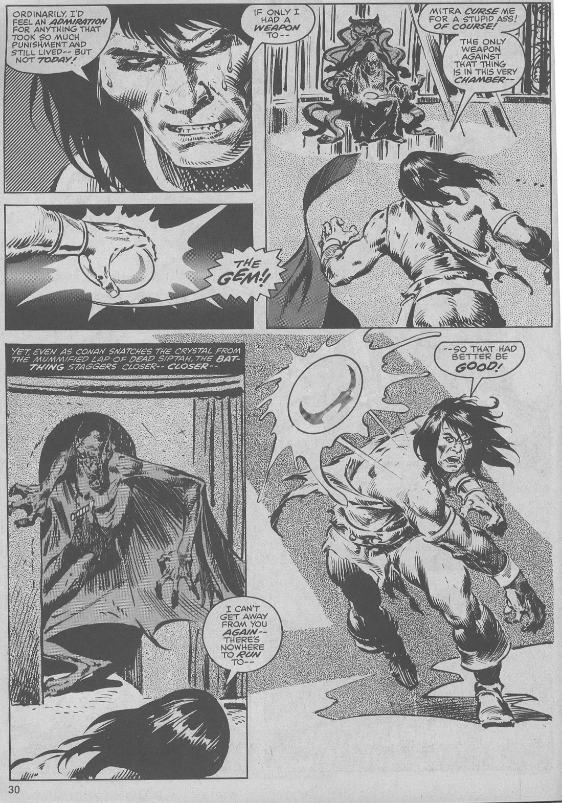 The Savage Sword Of Conan Issue #45 #46 - English 30