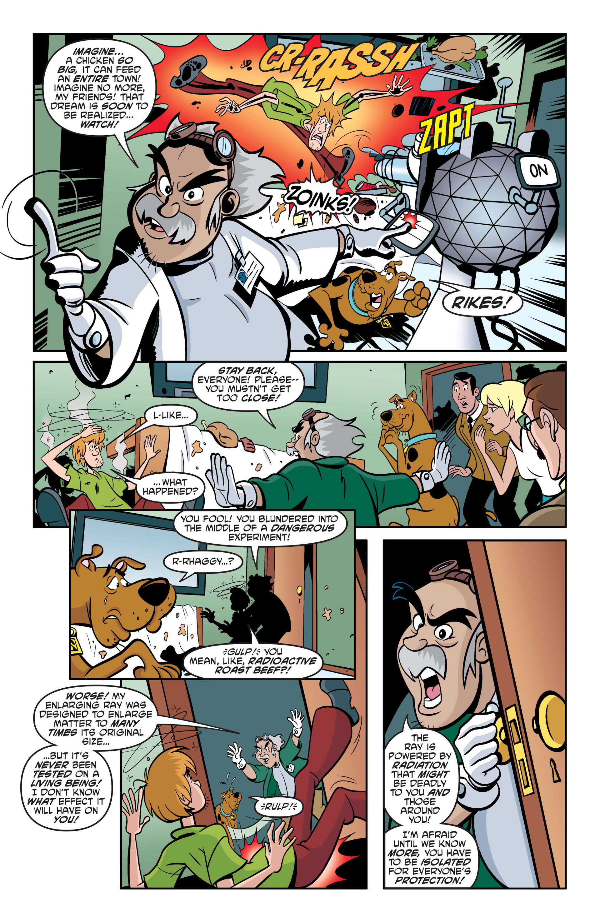 Read online Scooby-Doo: Where Are You? comic -  Issue #49 - 14