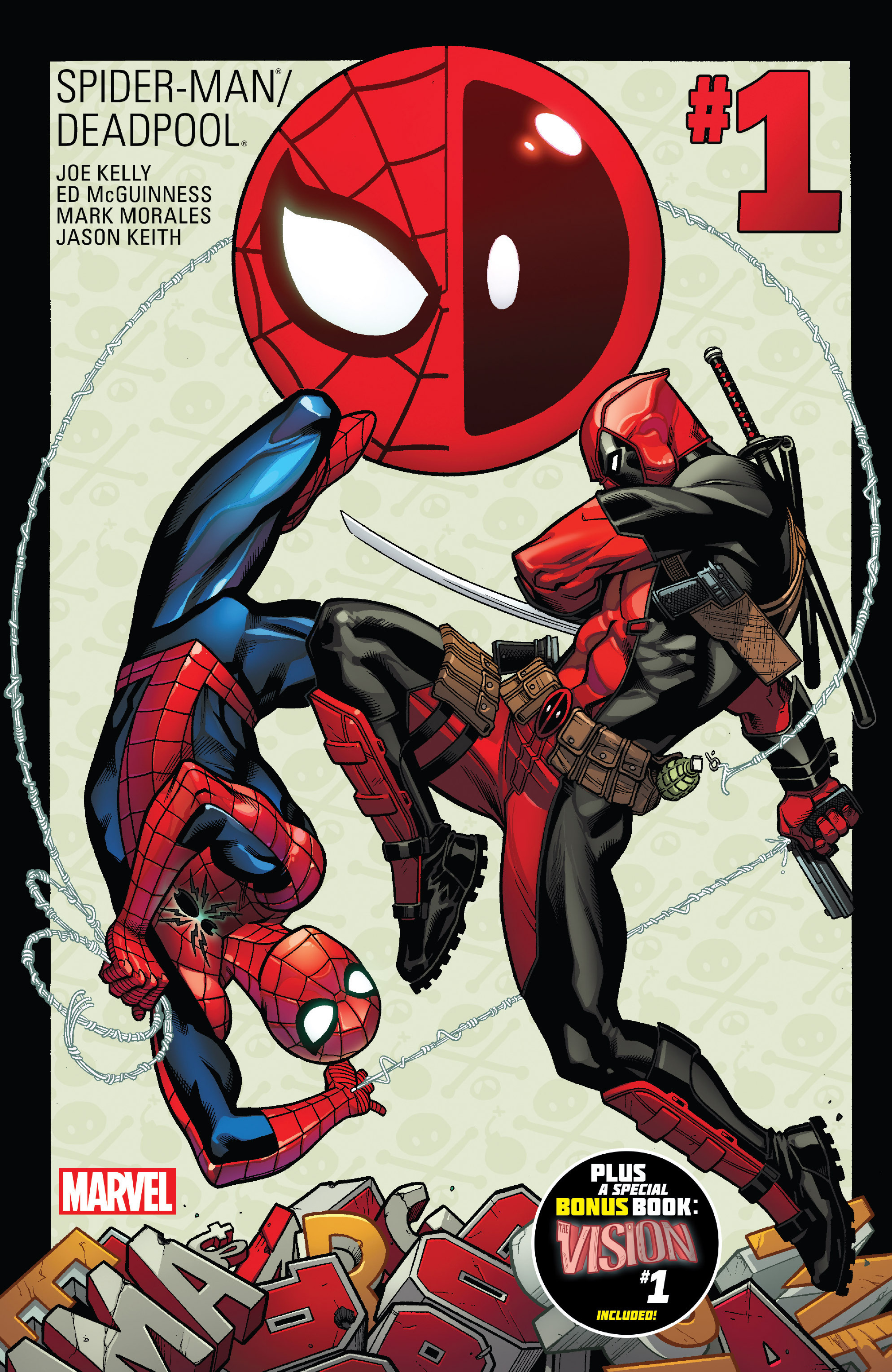 Spider-Man/Deadpool 1 Page 1