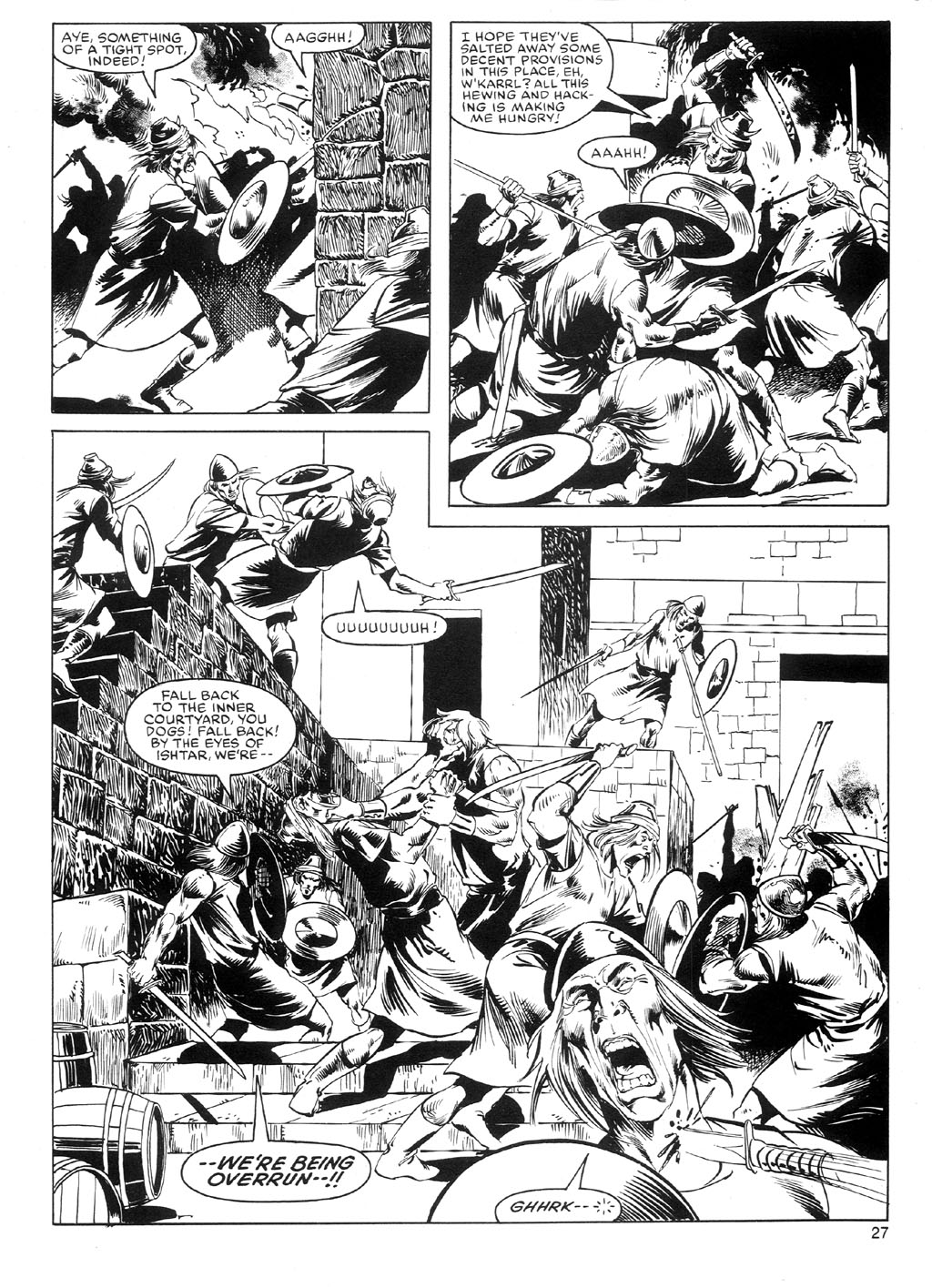 The Savage Sword Of Conan Issue #91 #92 - English 26