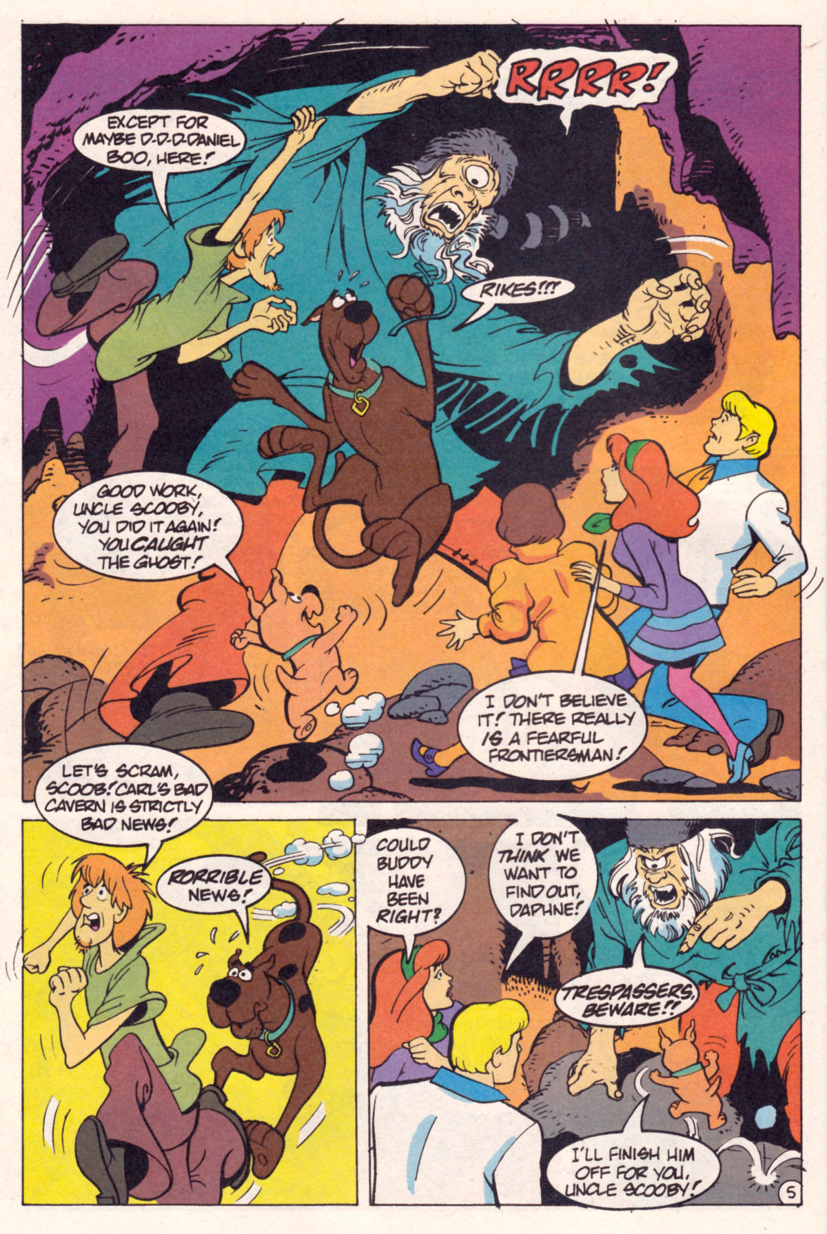 Read online Scooby-Doo (1995) comic -  Issue #12 - 7