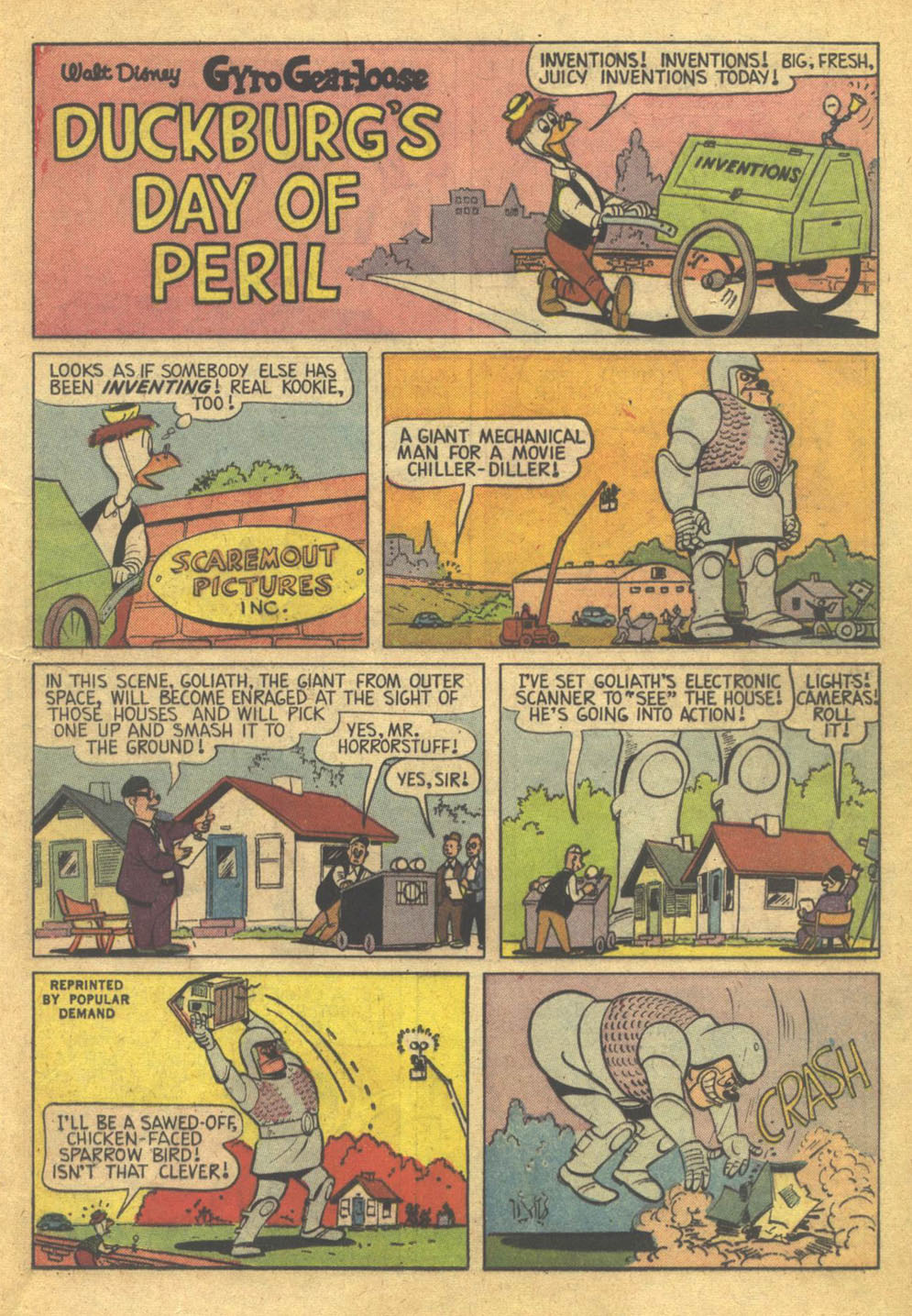 Uncle Scrooge (1953) Issue #73 #73 - English 13