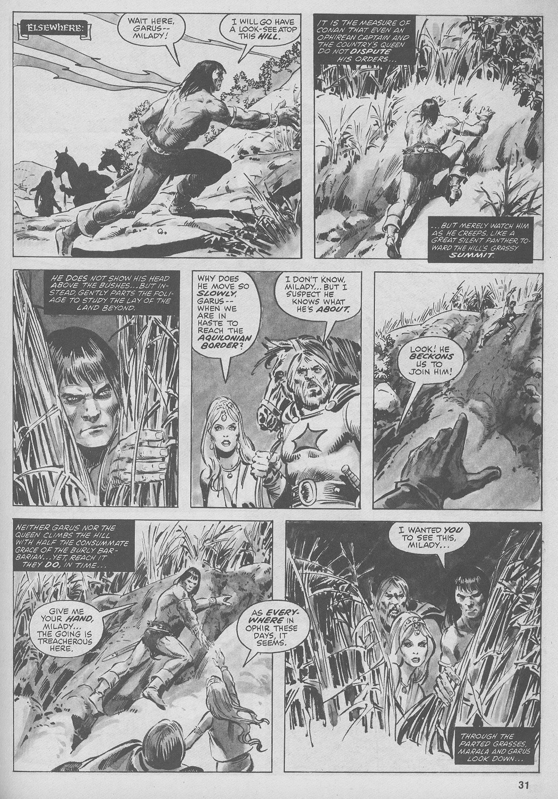 The Savage Sword Of Conan Issue #44 #45 - English 31