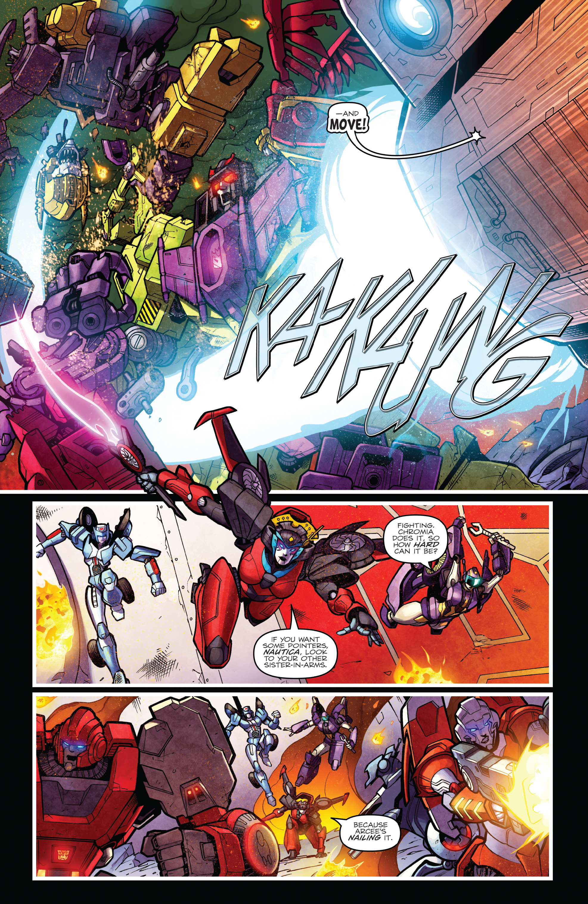 Read online The Transformers: Dark Cybertron Finale comic -  Issue # Full - 136