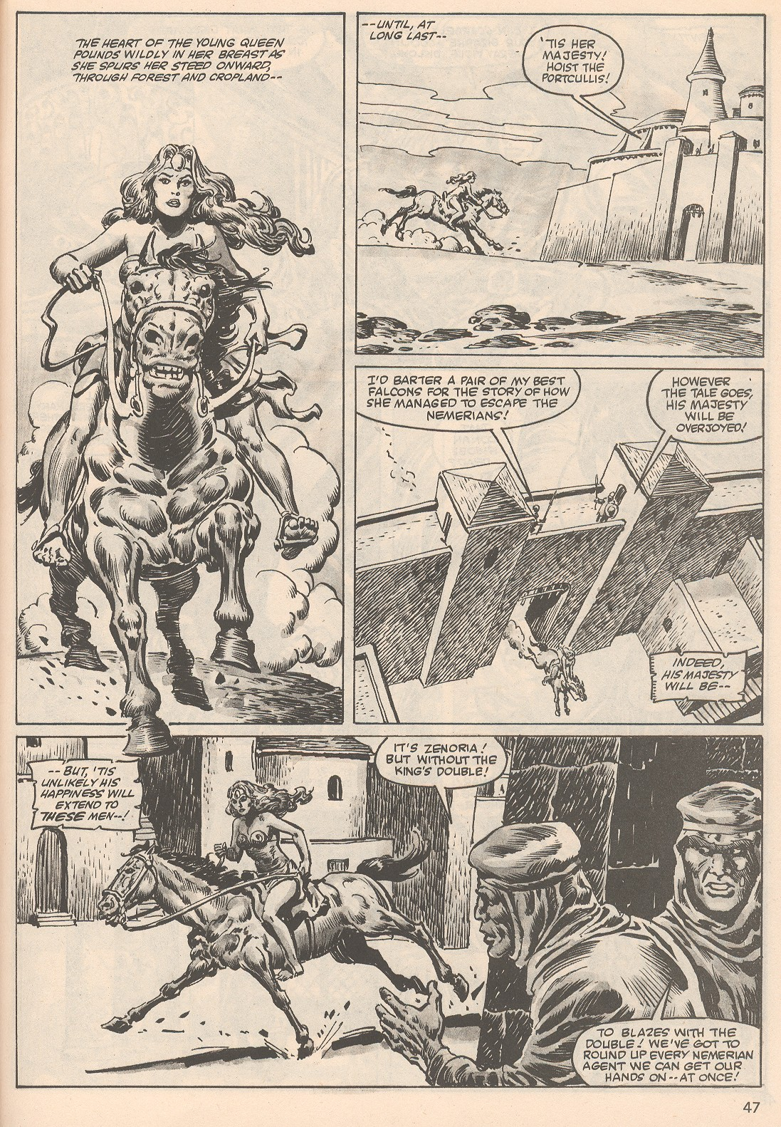 The Savage Sword Of Conan Issue #104 #105 - English 47