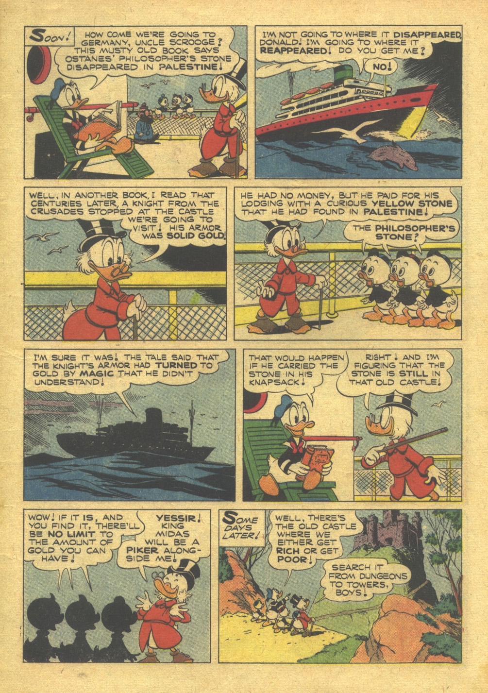 Uncle Scrooge (1953) #10 #395 - English 5