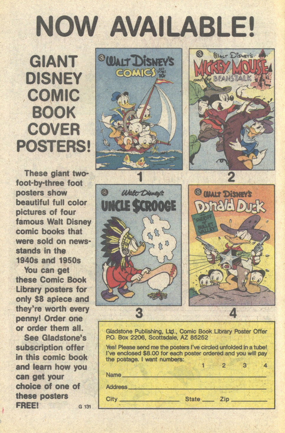 Uncle Scrooge (1953) Issue #215 #215 - English 10