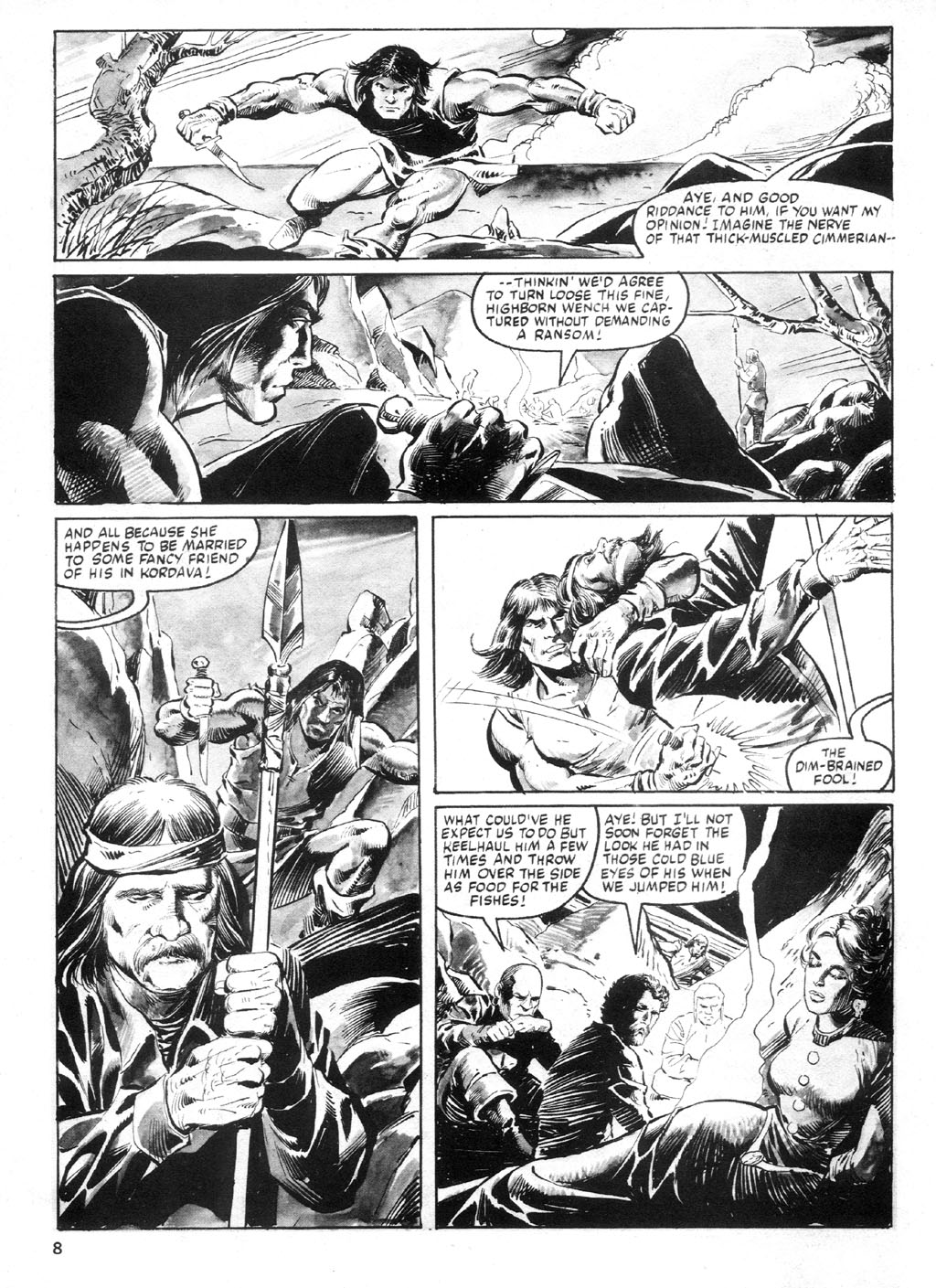 The Savage Sword Of Conan Issue #94 #95 - English 7