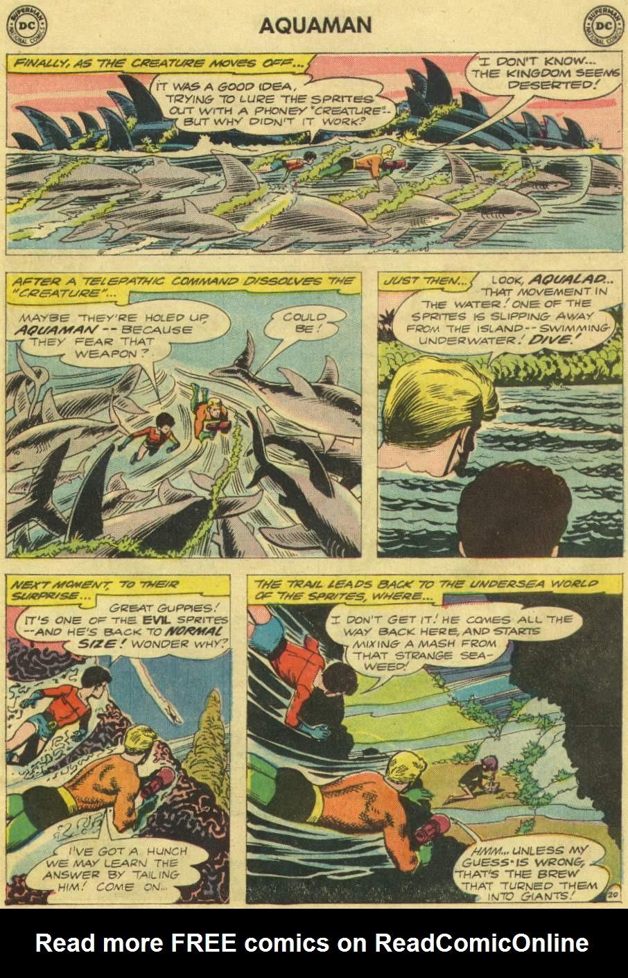 Aquaman (1962) Issue #10 #10 - English 27