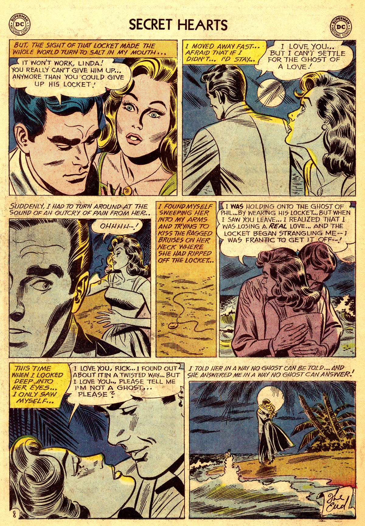 Read online Secret Hearts comic -  Issue #92 - 34