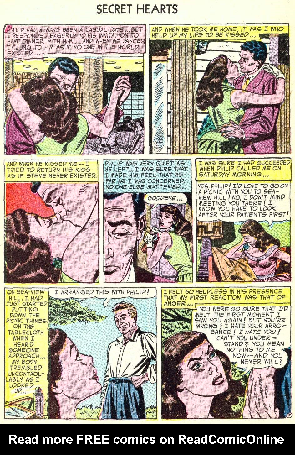 Read online Secret Hearts comic -  Issue #22 - 32