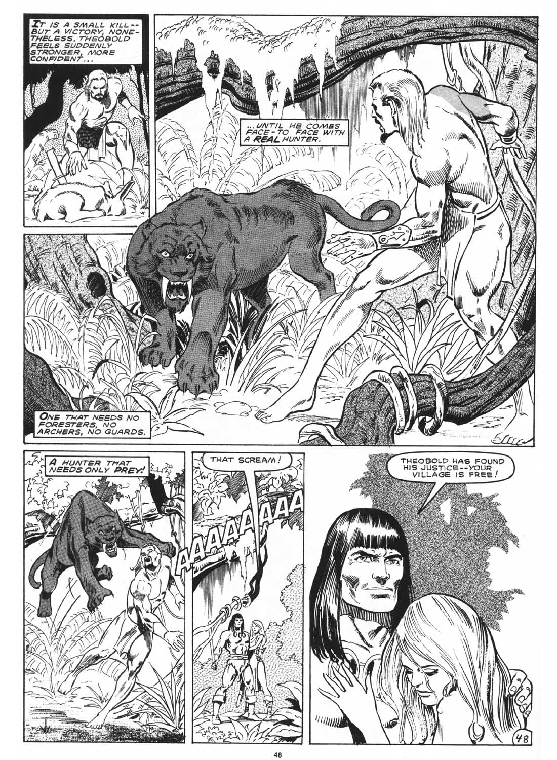 The Savage Sword Of Conan Issue #171 #172 - English 50