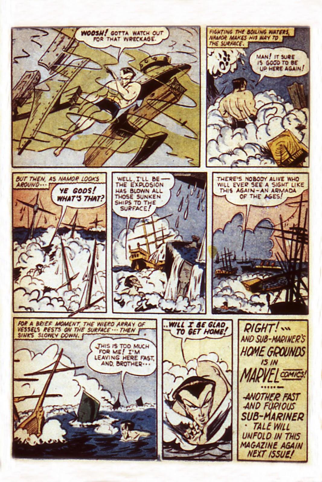 Sub-Mariner Comics Issue #7 #7 - English 22
