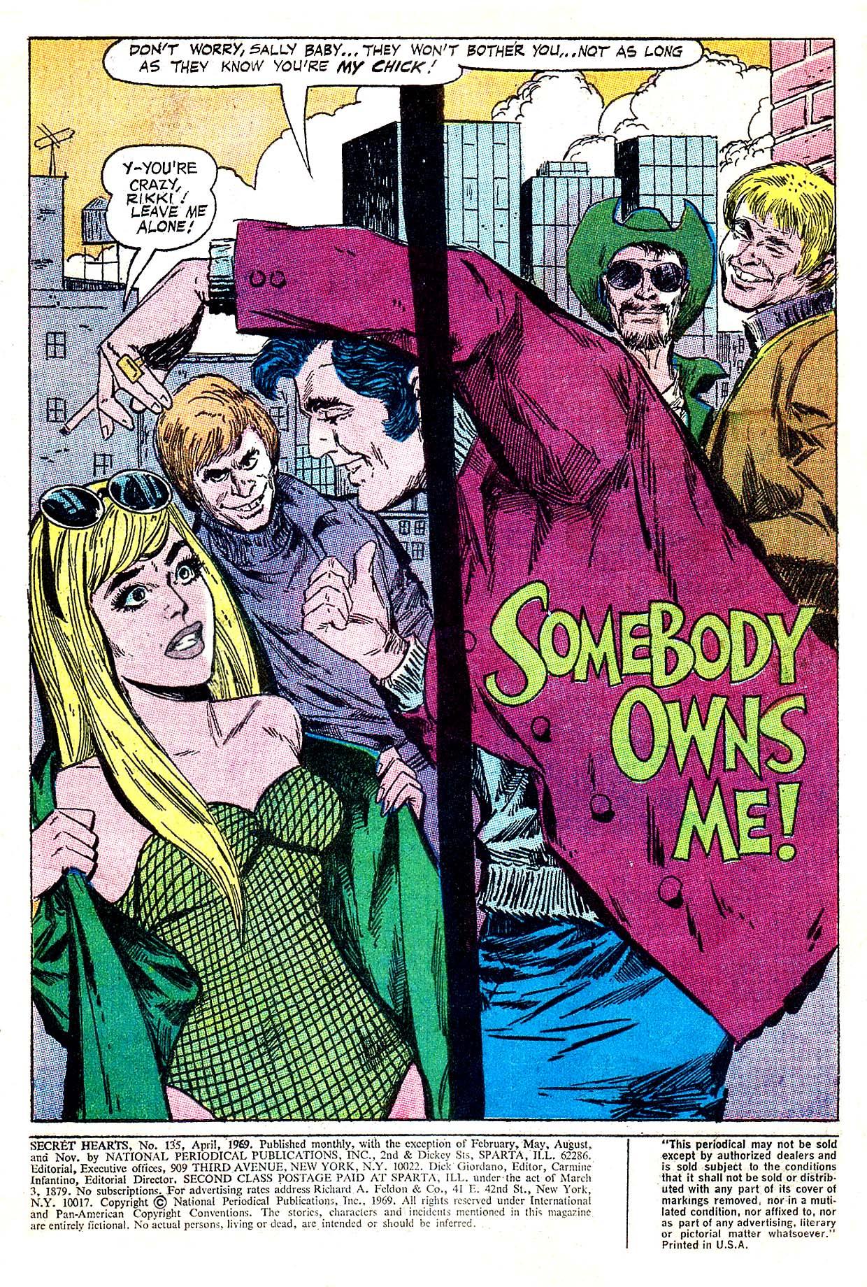 Read online Secret Hearts comic -  Issue #135 - 3