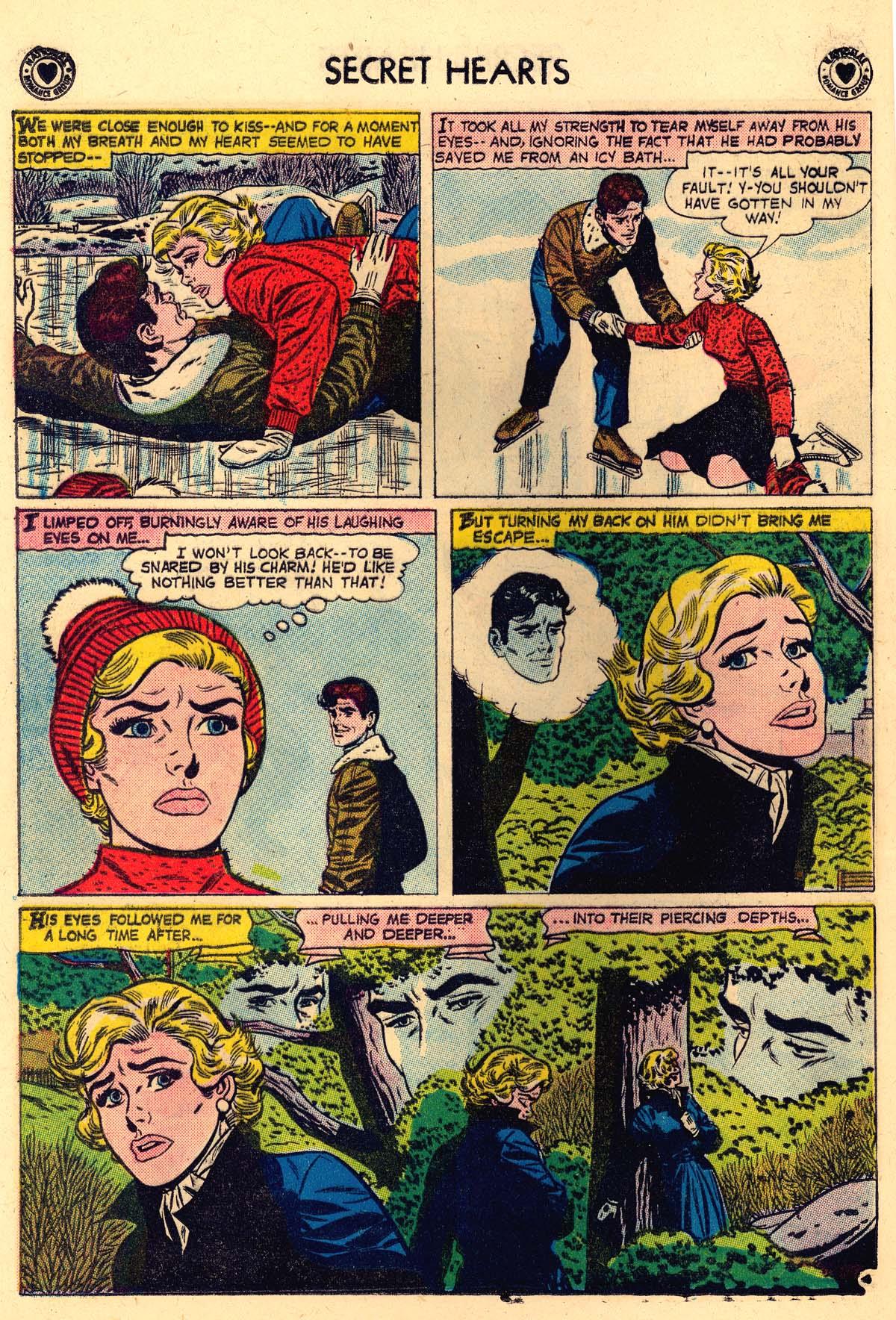 Read online Secret Hearts comic -  Issue #56 - 12