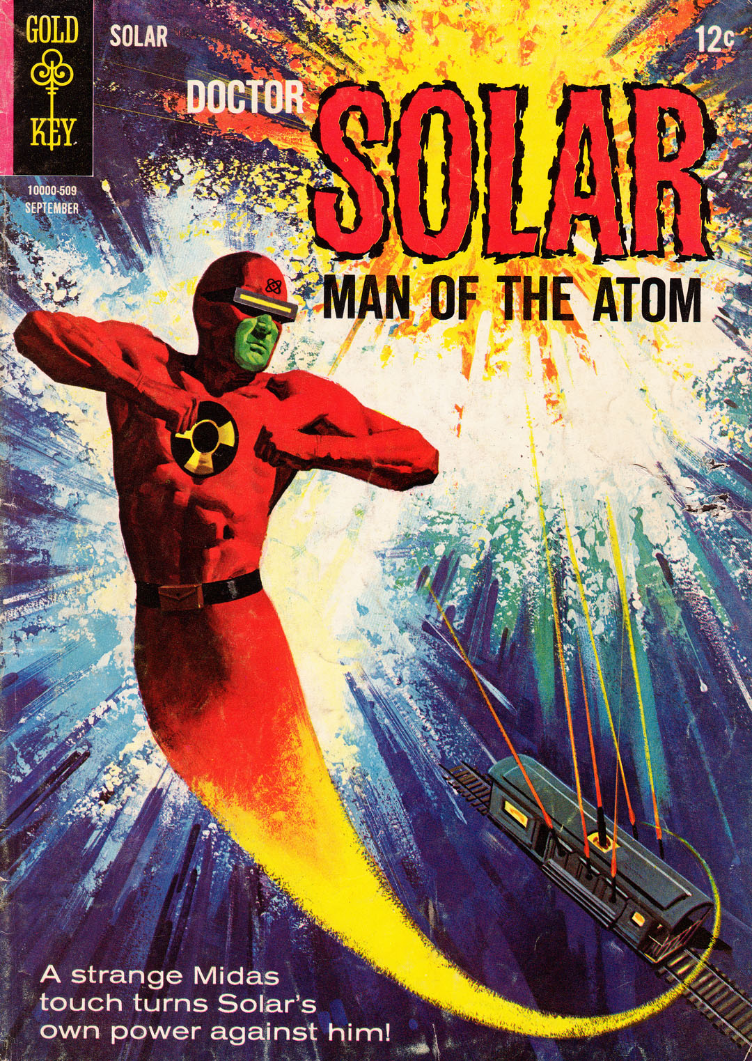 Doctor Solar, Man of the Atom (1962) 14 Page 1