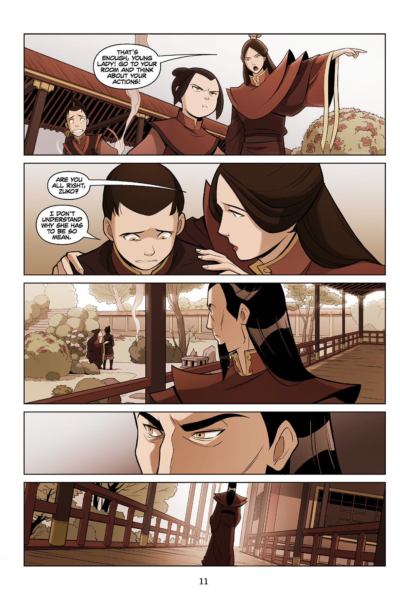 Read online Nickelodeon Avatar: The Last Airbender - The Search comic -  Issue # Part 2 - 12