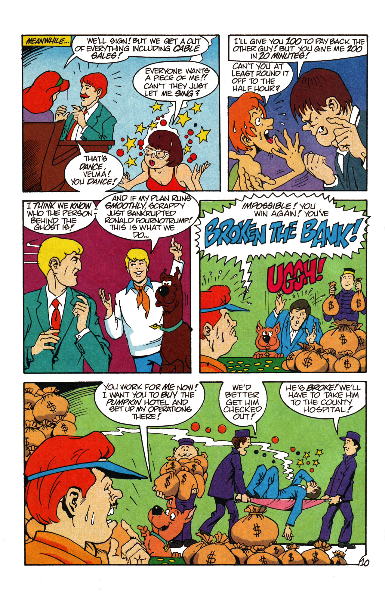 Read online Scooby-Doo (1995) comic -  Issue #13 - 15