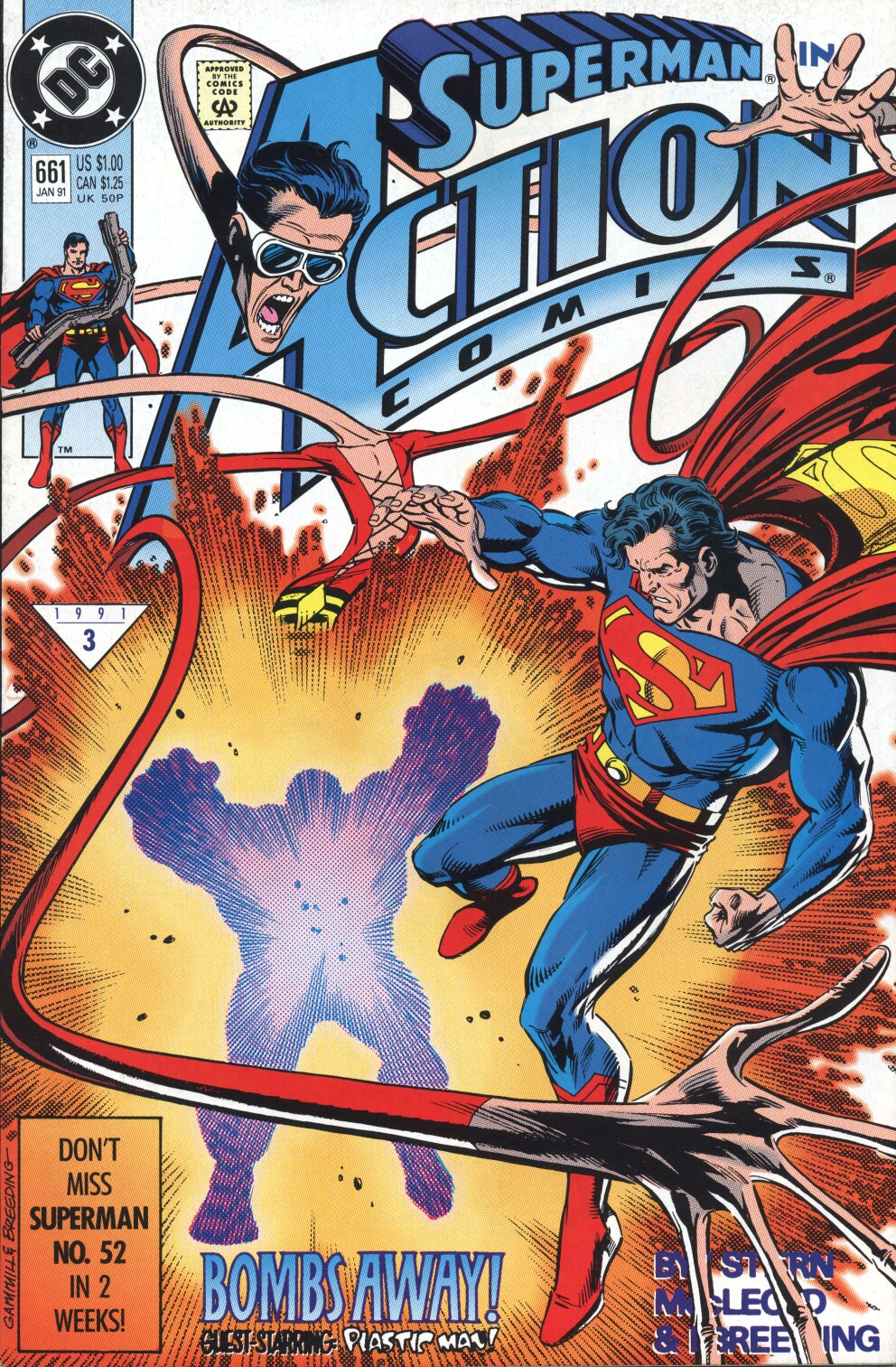 Action Comics (1938) 661 Page 1