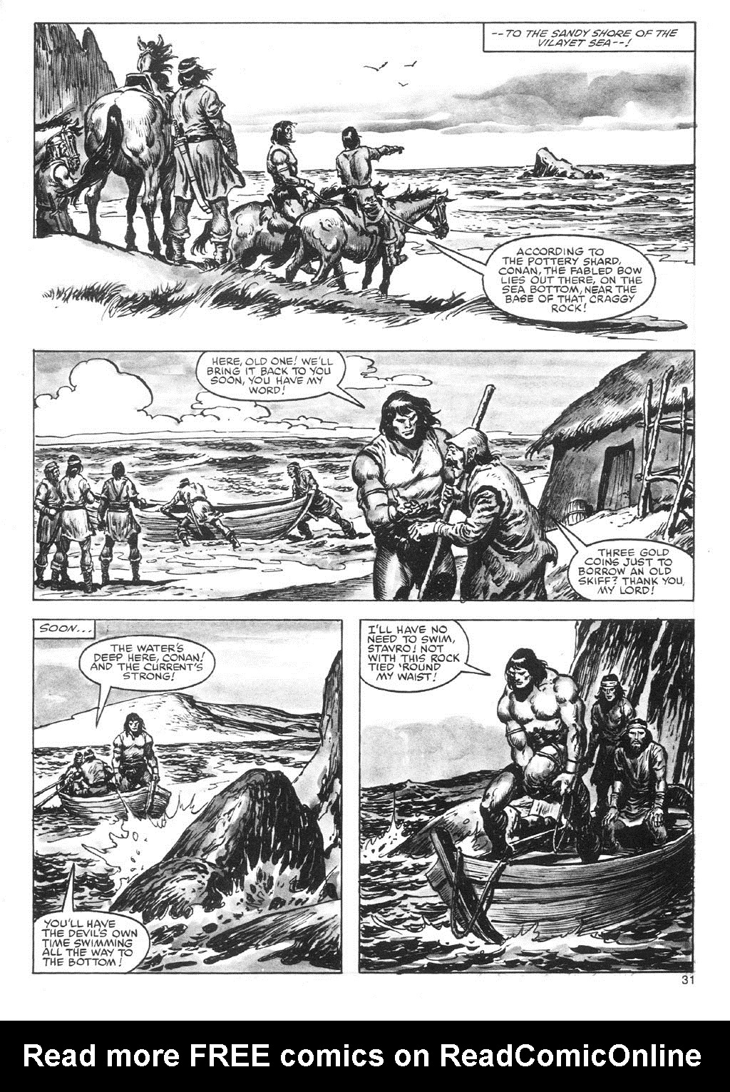 The Savage Sword Of Conan Issue #87 #88 - English 31