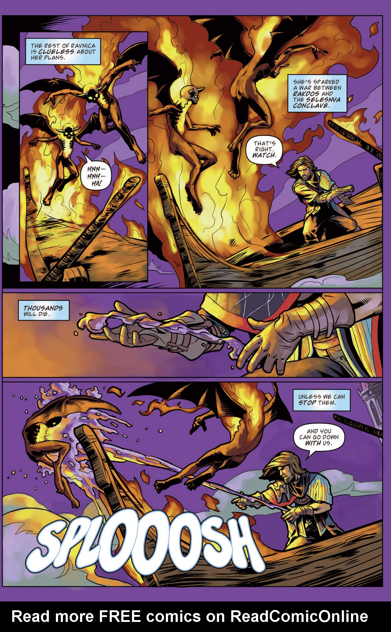 Read online Magic: The Gathering--Path of Vengeance comic -  Issue #3 - 6