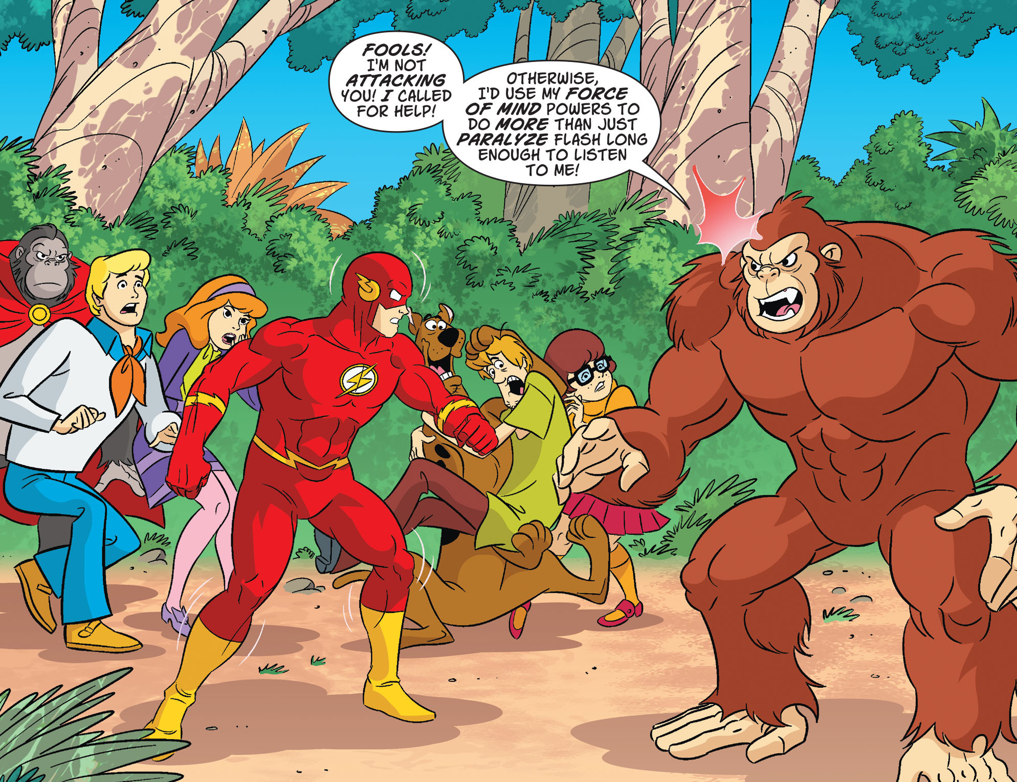 Read online Scooby-Doo! Team-Up comic -  Issue #30 - 4