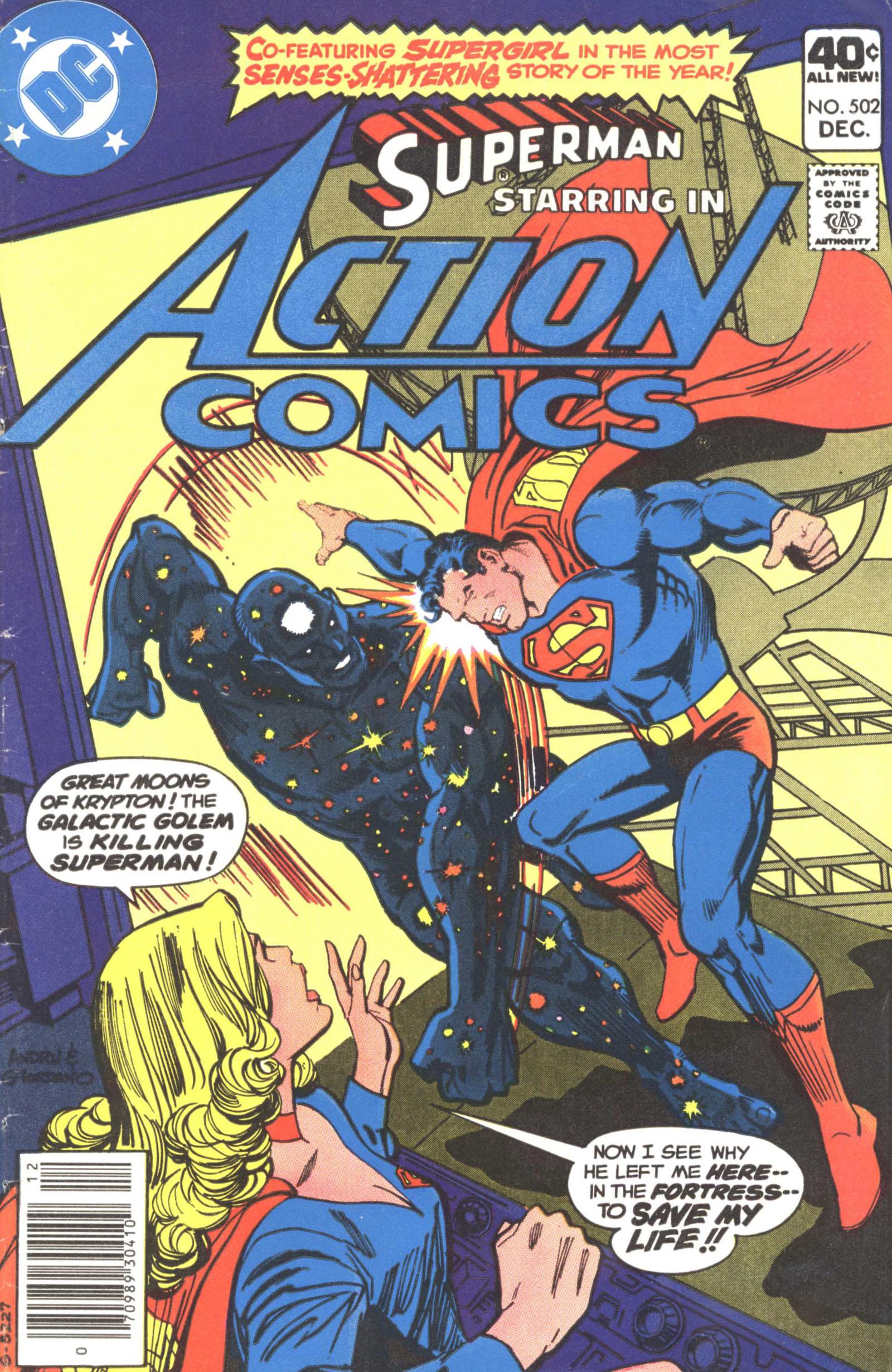 Action Comics (1938) 502 Page 1