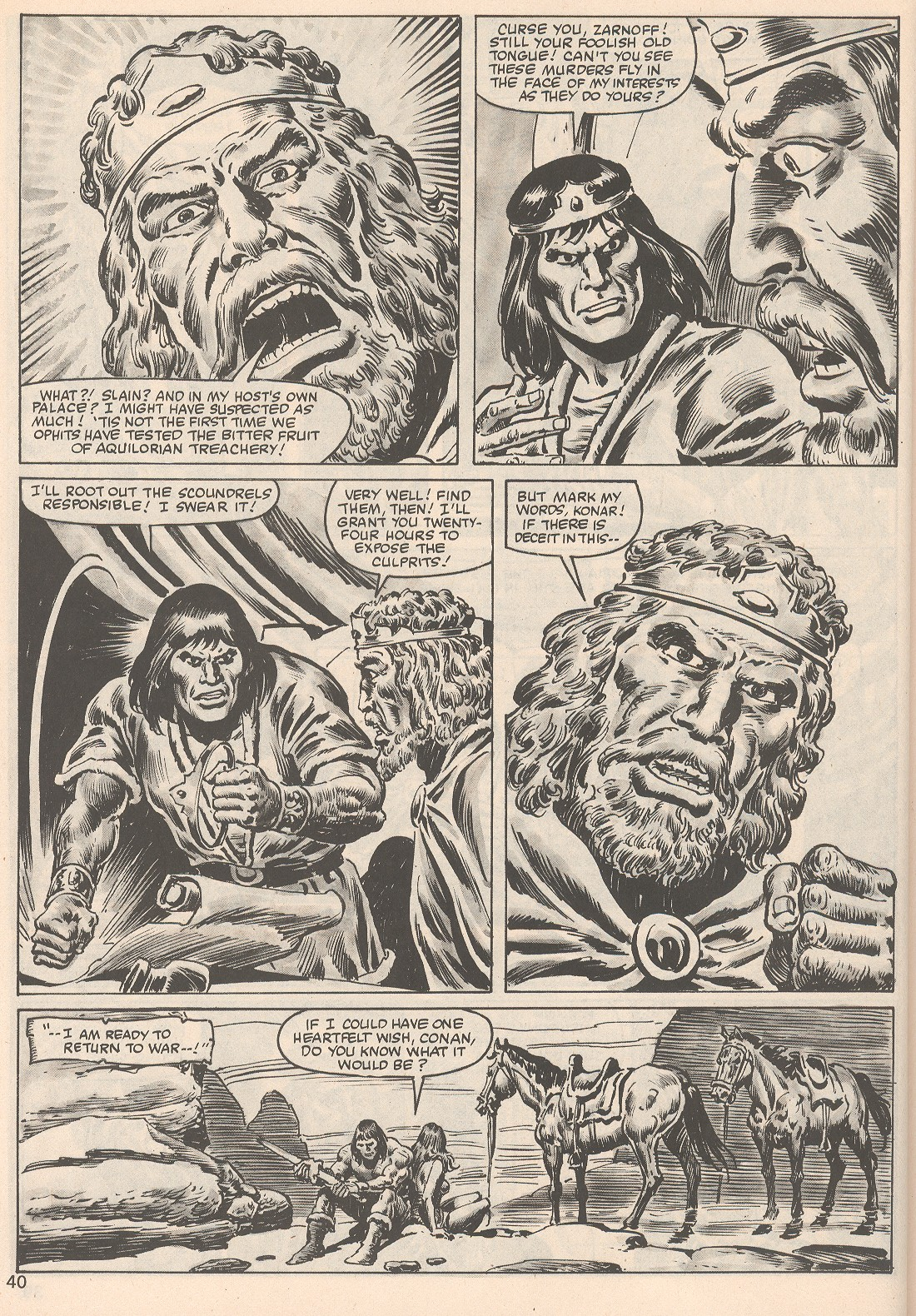 The Savage Sword Of Conan Issue #104 #105 - English 40