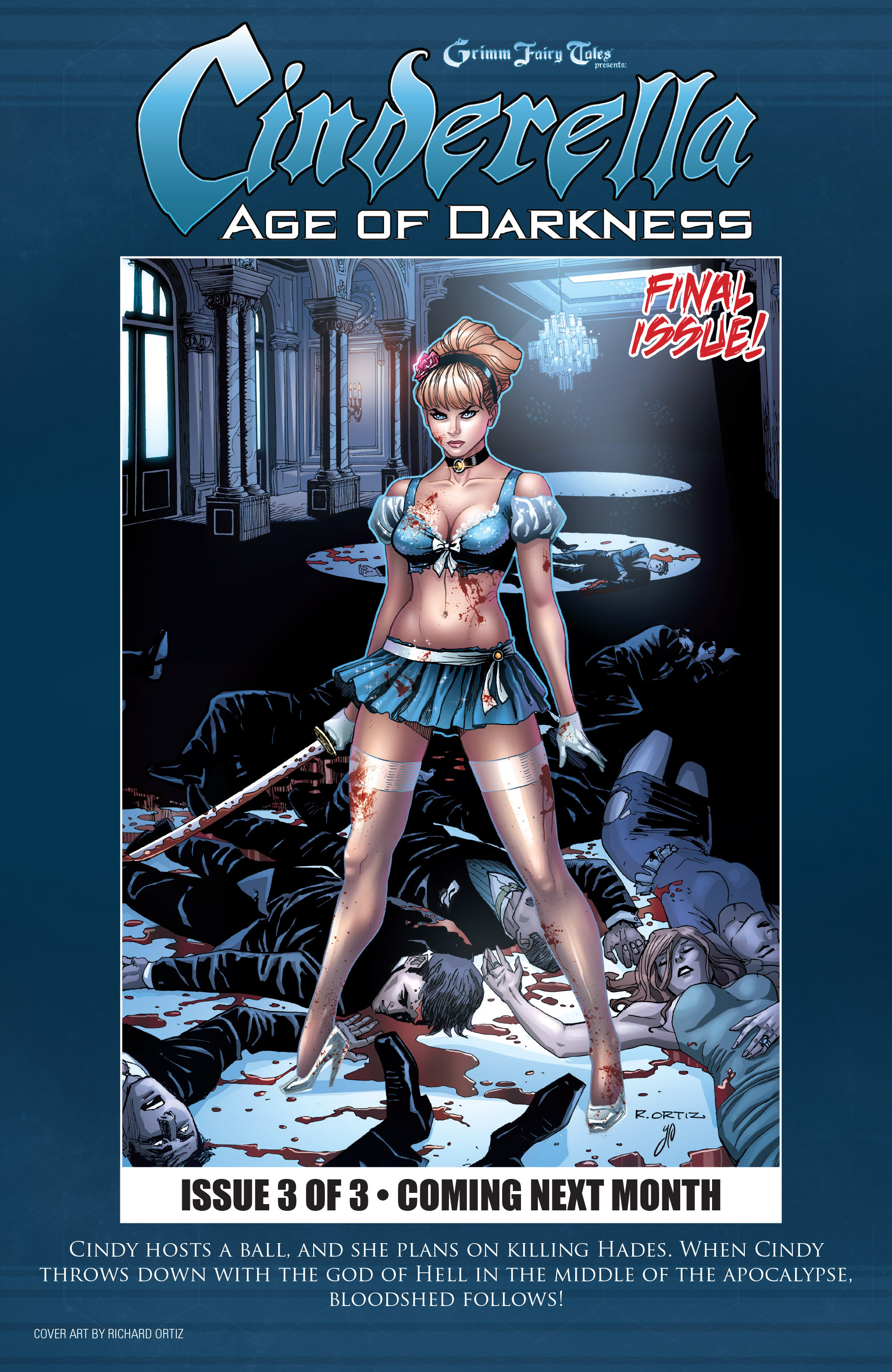 Read online Grimm Fairy Tales presents Cinderella: Age of Darkness comic -  Issue #2 - 25