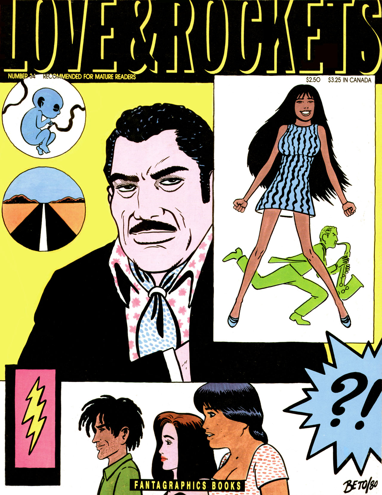 Love and Rockets (1982) #34 #34 - English 1
