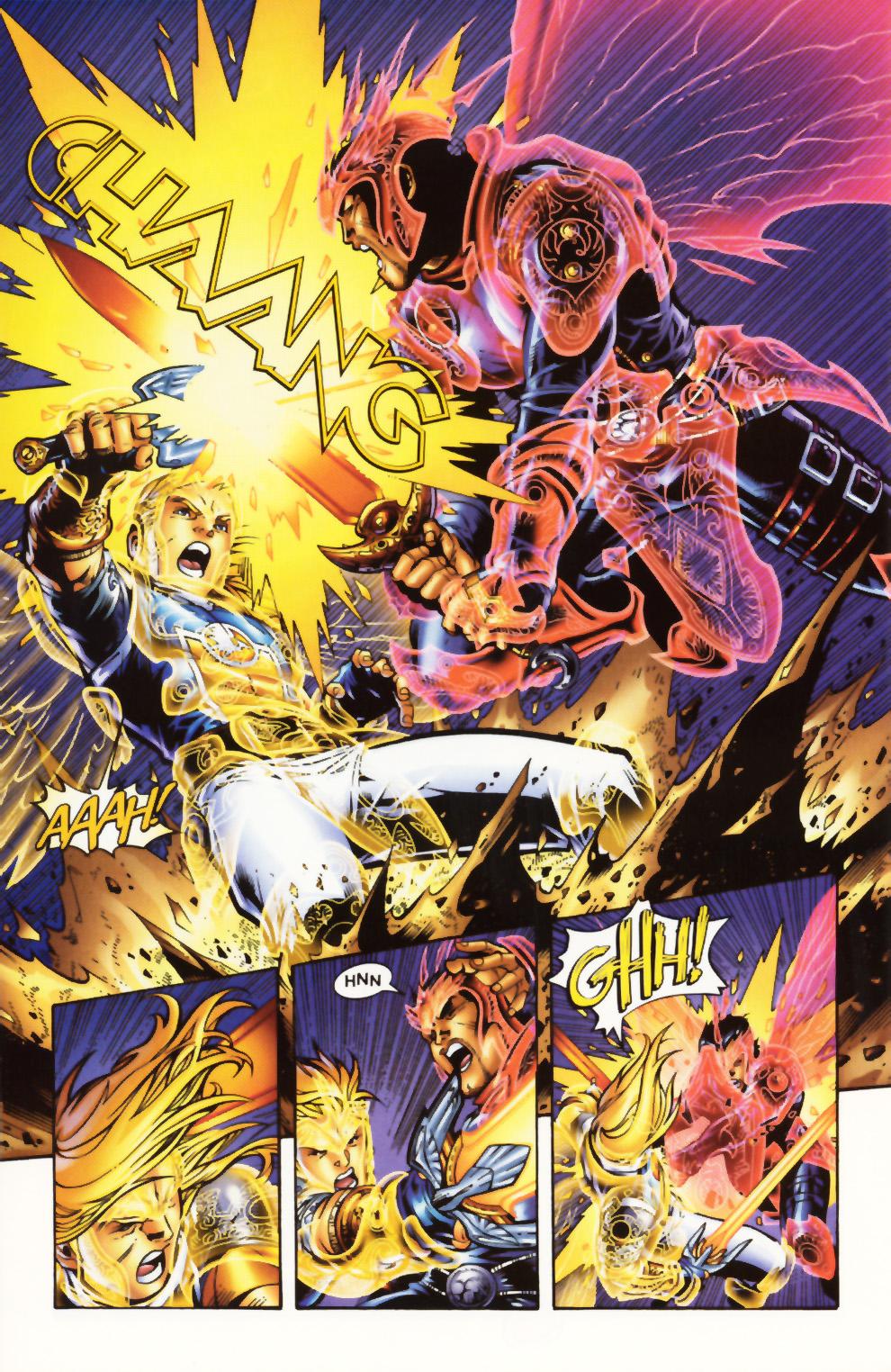 Read online Scion comic -  Issue #1 - 21
